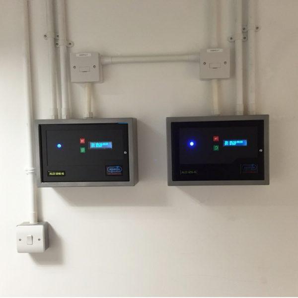 Dual ALD126 water leak detection panels
