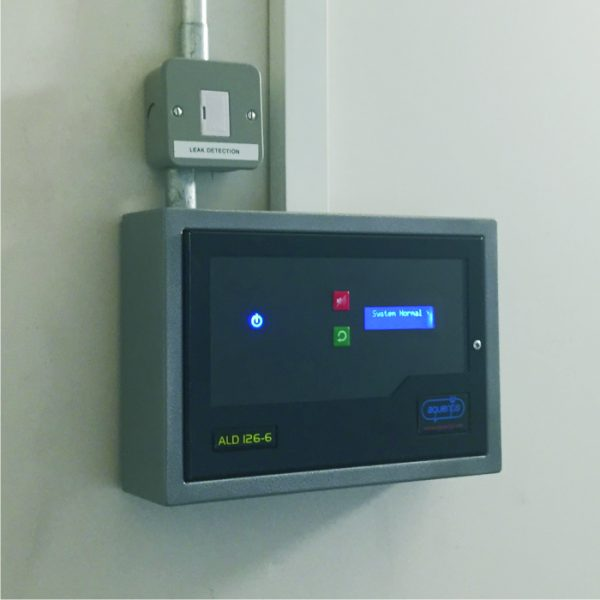 A six zone Aquentis ALD126 panel in operation